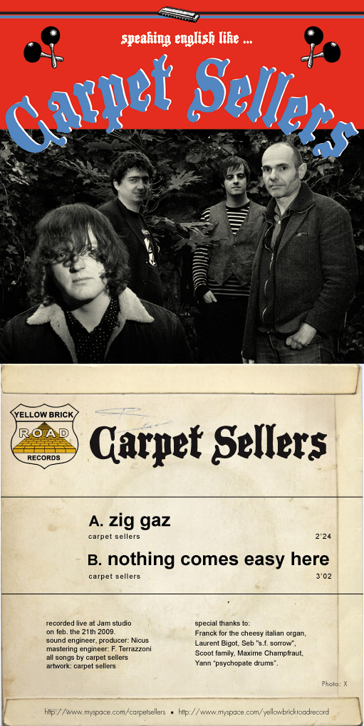 1er 45tours des Carpet Sellers, de nouveau dispo 45ts-carpet-front-back1